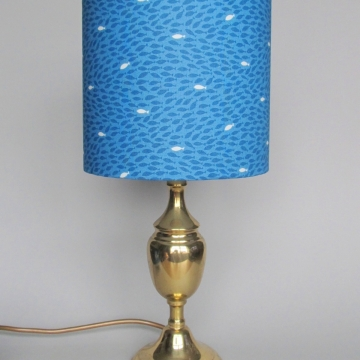 """Little fish"" vintage lamp"