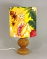 Island Beauty vintage lamp with handmade shade