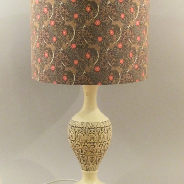 """Wightwick Manor"" vintage lamp"