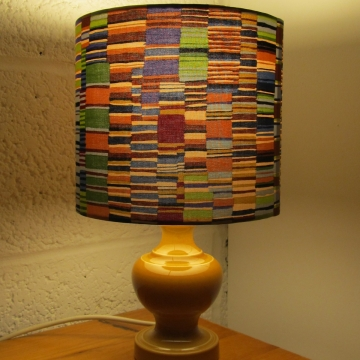 Caramel Layer vintage shade with handmade shade