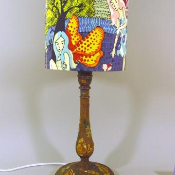 'Fairytale' vintage lamp