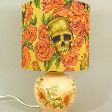 'Gothic Rose' vintage lamp