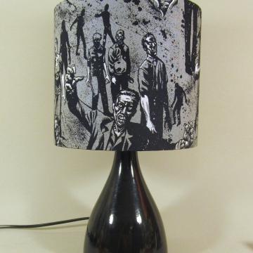 'Zombieland' vintage lamp