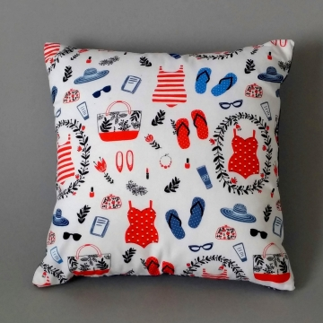 'Beach Beautiful' – Scatter Cushion