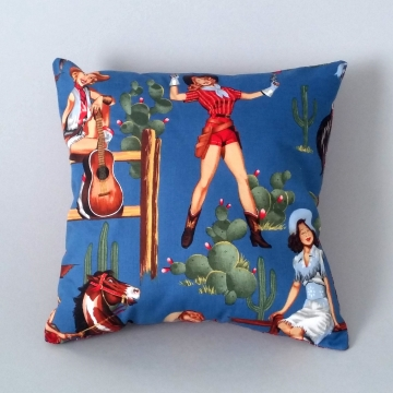 'Holy Cowgirl' – Scatter Cushion