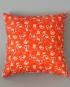'Orange Blossom Cowboys' Scatter Cushion - side 1