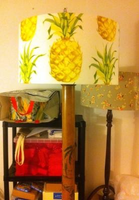 Tropical standard lamp