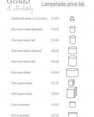 Price list page 1 image
