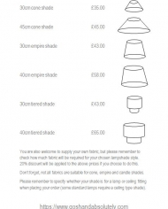 Price list page 2