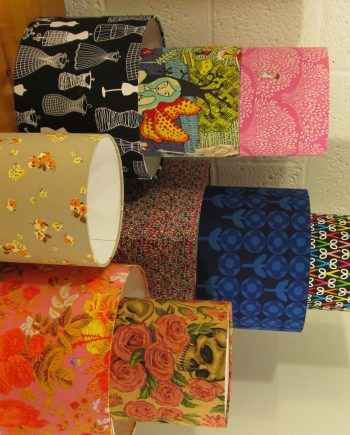 Bespoke lampshades in your choice of fabrics