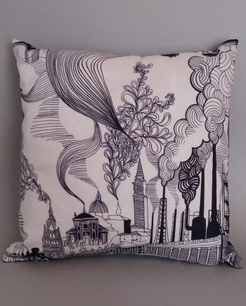 Town V Country scatter cushion