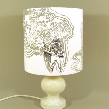 'Camanda of the Animal Army' vintage lamp