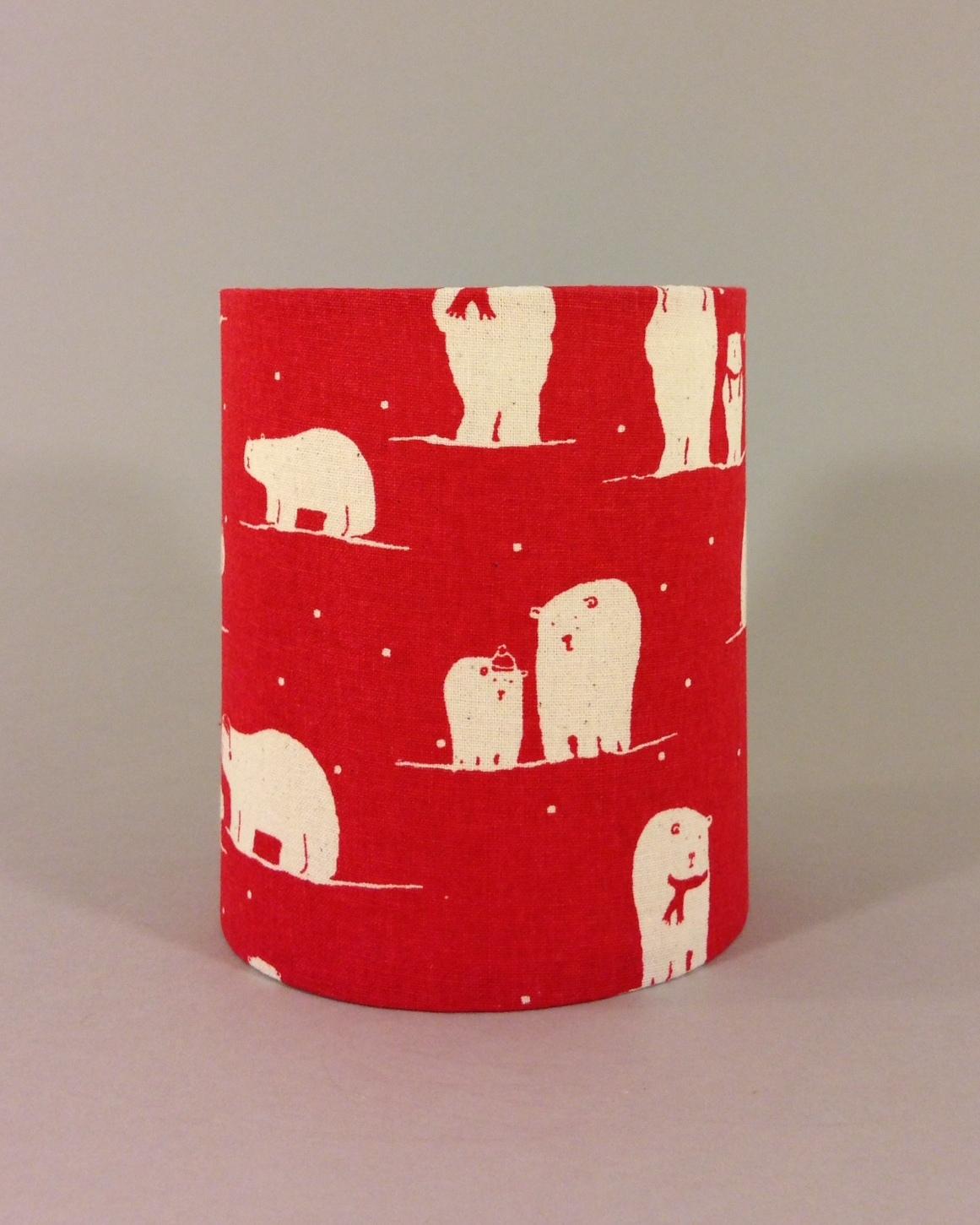 Christmas polar bear lantern