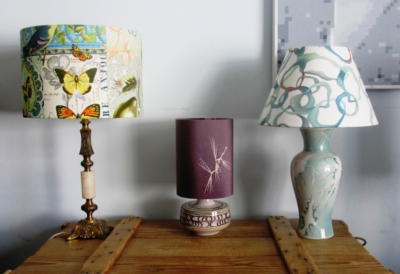 Upcycled vintage lamps - Gosh & Absolutely