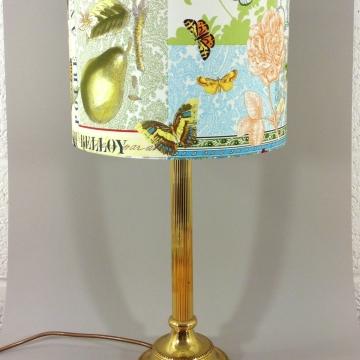 'Papillon & Poire' vintage lamp