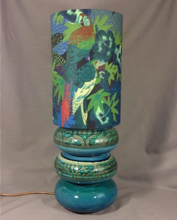'Paradise Found' vintage lamp