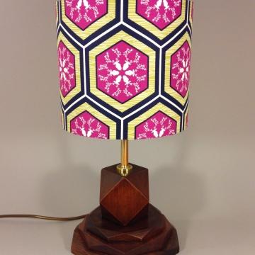 'Hexstagonal' vintage lamp