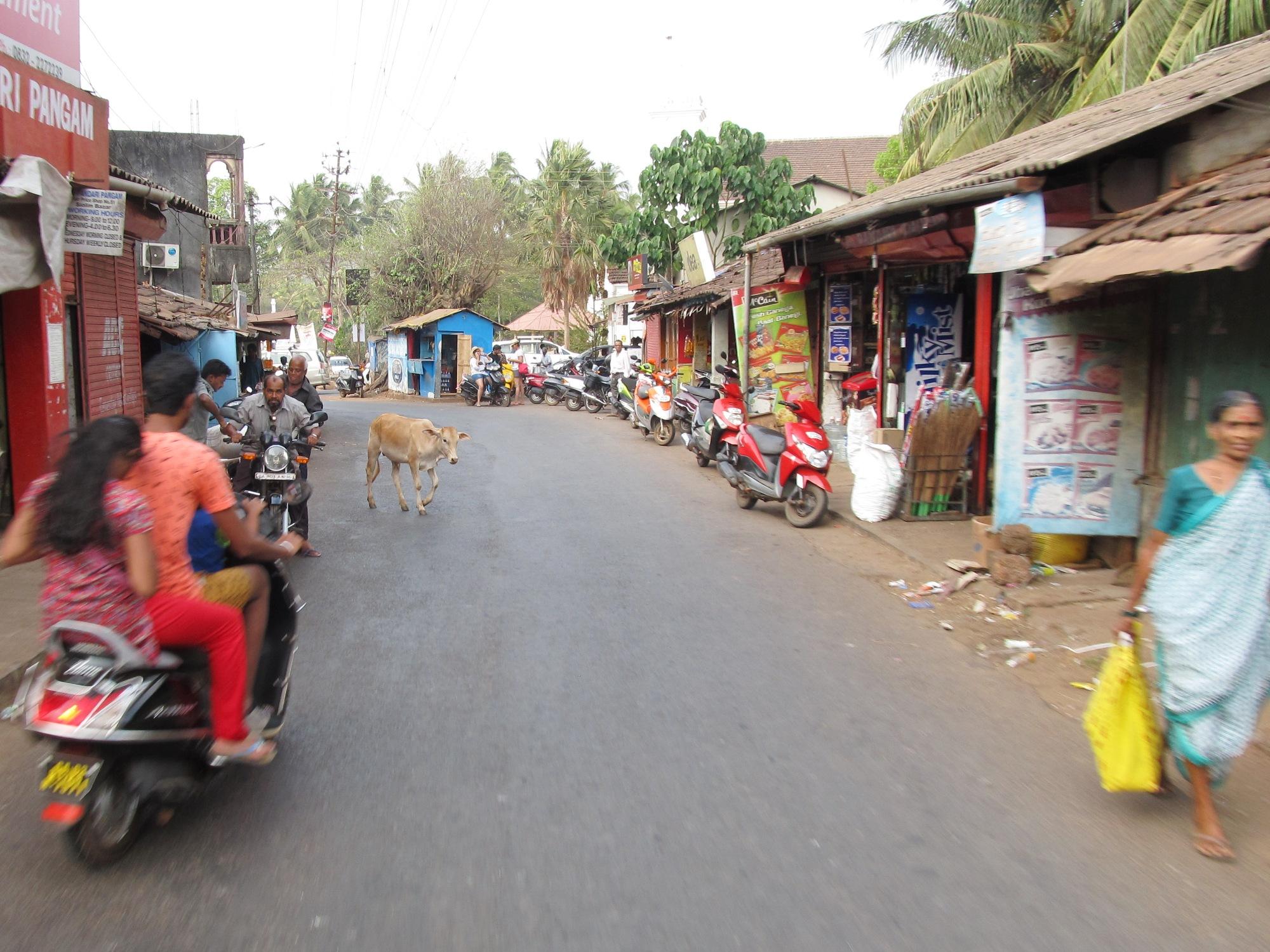 Street scene, Goa