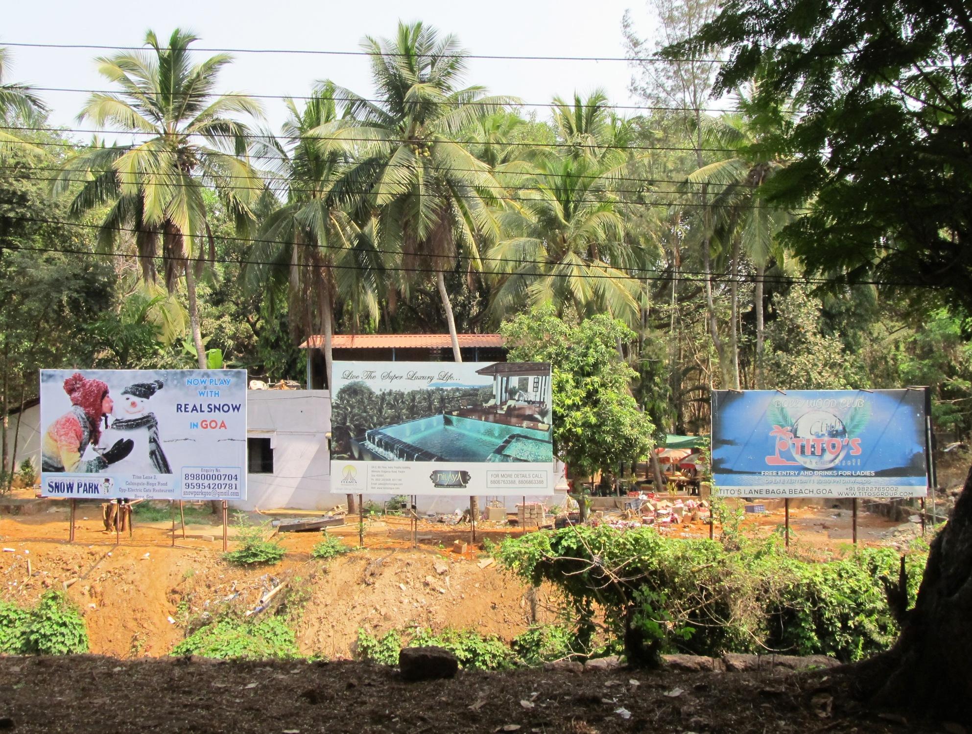 Billboards, Goa