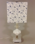 Winter Wonderland vintage lamp