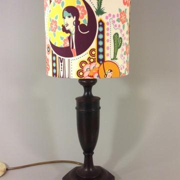 'Deco Desert' vintage lamp