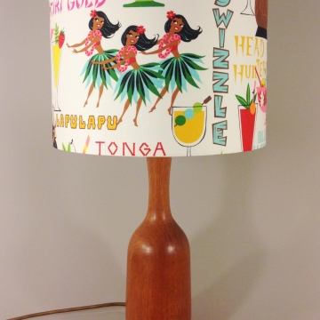 'Rum Punch' vintage lamp