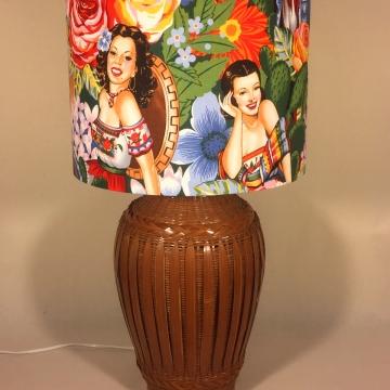 'Fiesta Mexicana' vintage lamp