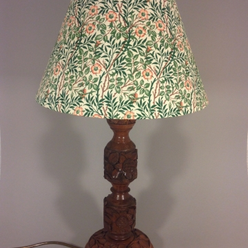 'Sleeping Beauty' vintage lamp