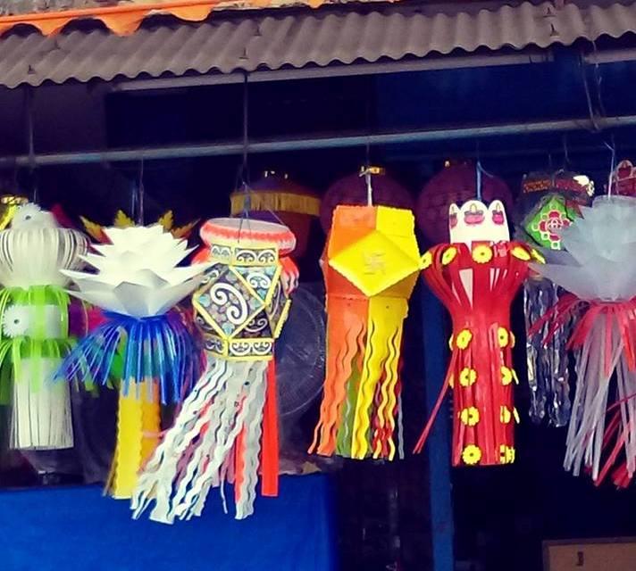 Diwali lanterns, Goa