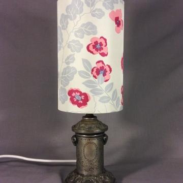 'Argent Nouveau' vintage lamp