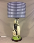Crazy Golf vintage lamp with handmade shade