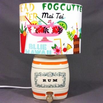 'Mai Tai' vintage lamp