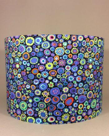 Bespoke lampshade made with 'Paperweight' fabric