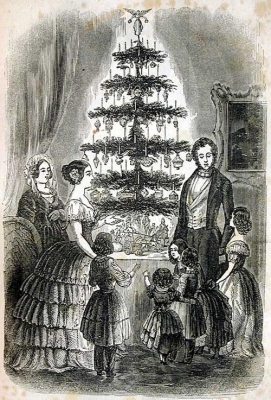 Queen Victoria's Christmas tree 1848