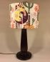 Deco to Disco vintage lamp and handmade shade