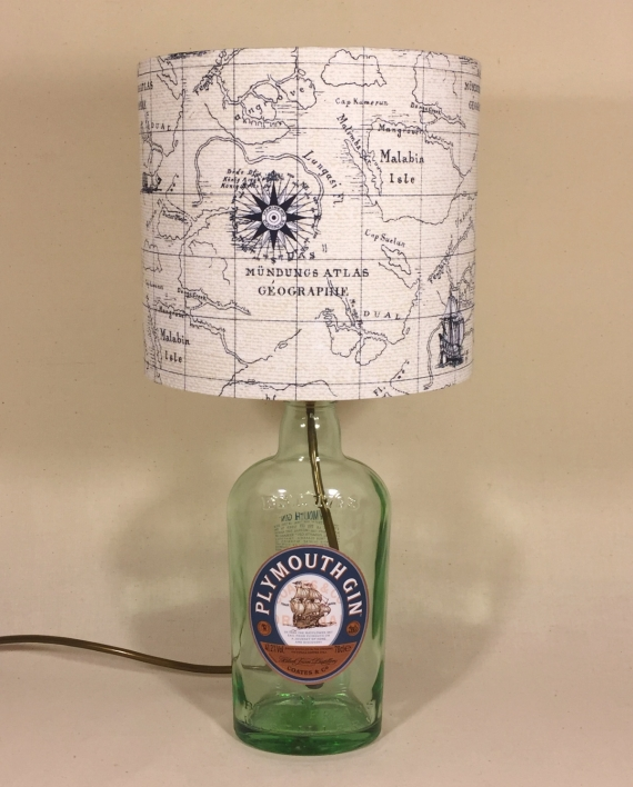 Drunken Sailor lamp and handmade shade