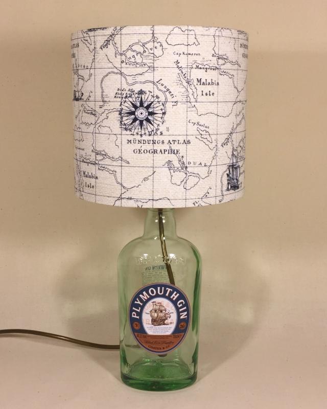 Drunken Sailor lamp and handmade shade