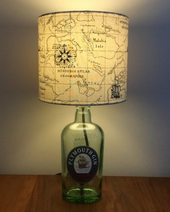Drunken Sailor lamp with handmade shade