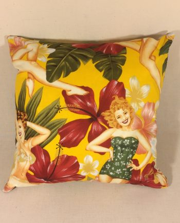 Island Beauties - handmade scatter cushion