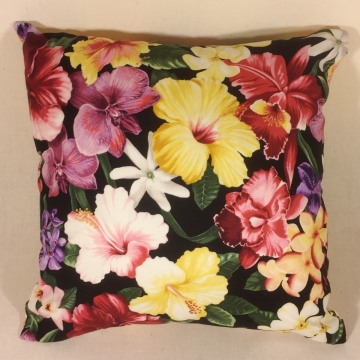 Island Beauties - handmade scatter cushion