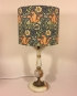 Kelmscott Manor vintage lamp and handmade shade