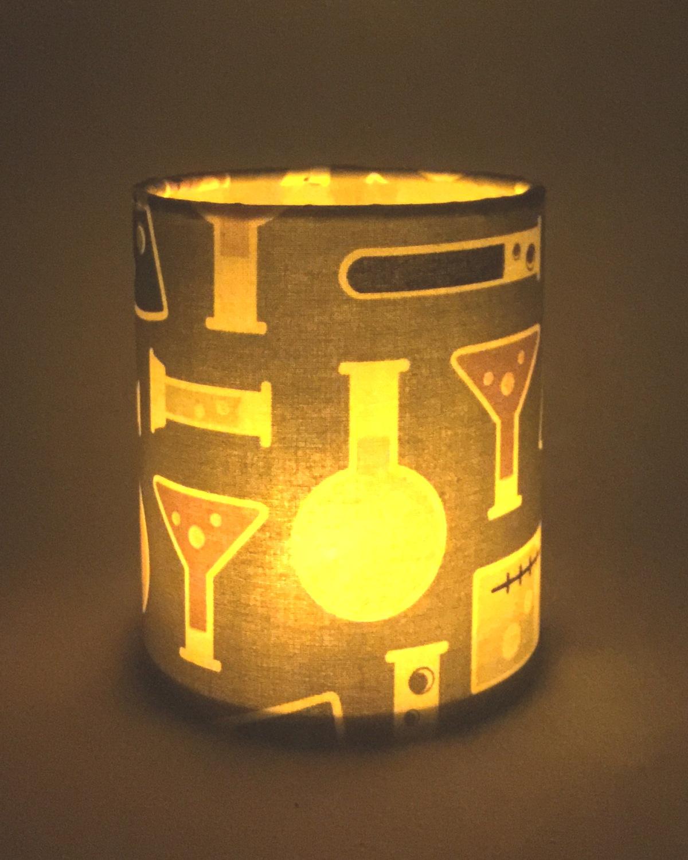 Science lantern for battery tea light or led string lights for Small led lights for crafts michaels