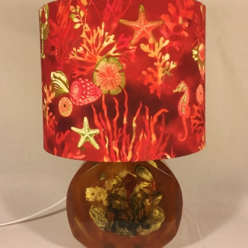 'Under the Sea' vintage lamp