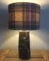 Gie it Laldy vintage lamp with handmade shade