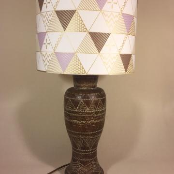 'Prism Break' vintage lamp