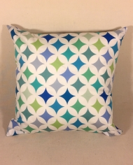 Scandi fish – handmade scatter cushion