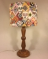 Sugar & Spice vintage lamp and handmade shade