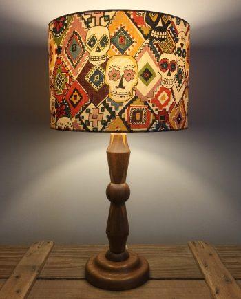 Sugar & Spice vintage lamp and handmade shade