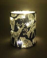 Winter Woodland Christmas lantern
