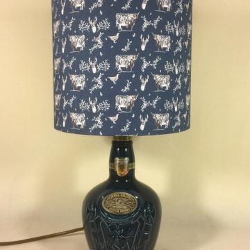 'Regal Blue' lamp
